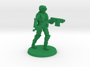 Light Trooper Ginger in Green Processed Versatile Plastic