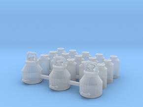 1/87 H0 Melkeimer und Milchkannen in Frosted Ultra Detail