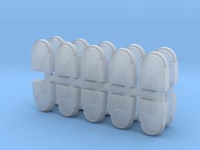 1/87 H0 Baustellensicherung Warnleuchten in Smooth Fine Detail Plastic