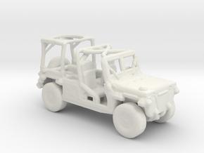 M1161 Growler 1:285 scale in White Natural Versatile Plastic