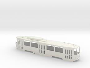 Tatra T6A5 0 Scale [body] in White Natural Versatile Plastic: 1:48