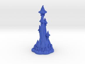 WIZARD'S TOWER  in Blue Processed Versatile Plastic
