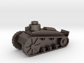Light Tank in Polished Bronzed Silver Steel