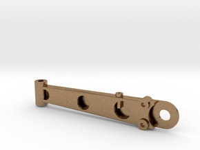 Lower Control Arm Assembly - Left in Natural Brass