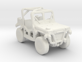 M1163 prime mover 1:220 scale in White Natural Versatile Plastic