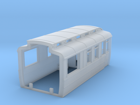 GNR Saloon - End (3/3) in Smooth Fine Detail Plastic