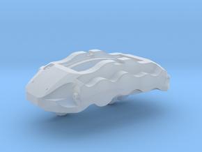 6-Piston Caliper - Left - complete  in Smoothest Fine Detail Plastic