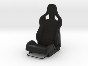 Race Seat RType-6 - 1/10 in Black Natural Versatile Plastic