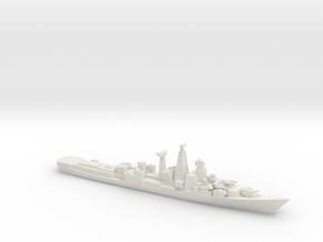 INS Ranvijay, 1/1250 in White Natural Versatile Plastic