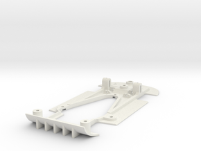 Chassis for NSR Mosler for triangle pod in White Natural Versatile Plastic
