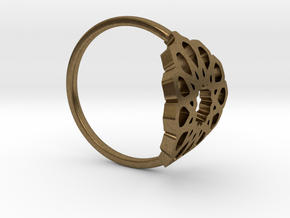Seamless Ring in Natural Bronze: Medium