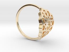 Seamless Ring in 14K Yellow Gold: Medium