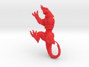 VorkaBeast 003 in Red Processed Versatile Plastic