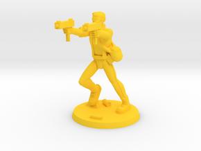 Andy 'Saint' Zombie Hunter in Yellow Processed Versatile Plastic