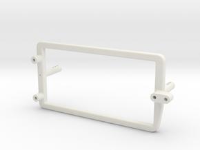 Shorty Pack Holder LWB Optima Mid in White Natural Versatile Plastic