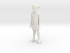 Printle C Kid 015 - 1/32 - wob in White Natural Versatile Plastic