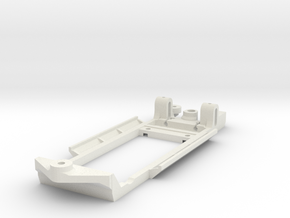 Chassis for SCX Ford Escort Mk2 in White Natural Versatile Plastic