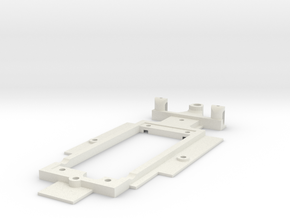 Chassis for Scalextric Ligier F1 in White Natural Versatile Plastic