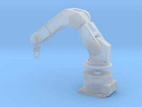 1/24 Pose-able Robotic Arm V2 in Smooth Fine Detail Plastic