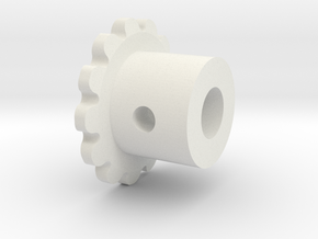 MIP SP21 Sprocket in White Natural Versatile Plastic
