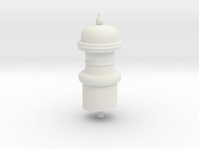 SNCV Cheminée pour lanterne intérieure - NMVB Scho in White Natural Versatile Plastic
