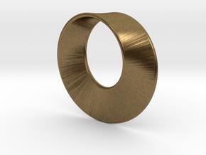 Mini Mobius in Natural Bronze