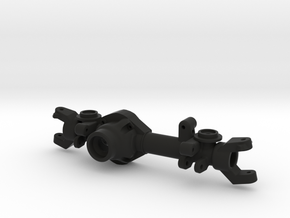 TMX Offroad Axle - Front Left Coil in Black Natural Versatile Plastic