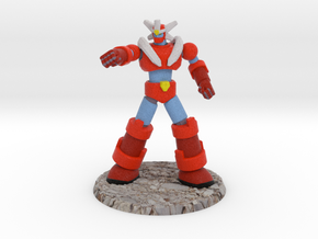 Big Science Retro-Mecha - 6mm Scale, with Base in Full Color Sandstone: 6mm