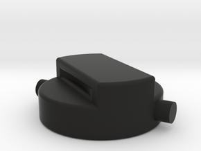 SCLPT26 under bottle cap in Black Natural Versatile Plastic