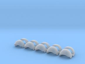 Blank tartaros Shoulders Left Side - Rebuilt 008a in Smooth Fine Detail Plastic