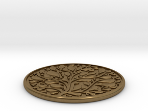 Tree Coaster in Natural Bronze