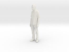 Printle C Homme 097 - 1/20 - wob in White Natural Versatile Plastic