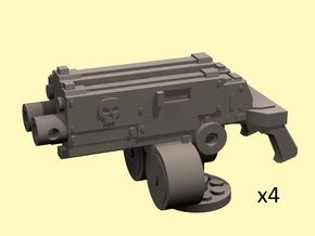 28mm combination gyroject guns for APC in Frosted Extreme Detail