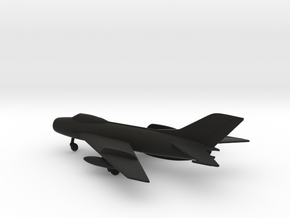 MiG-19S Farmer-C in Black Natural Versatile Plastic: 1:160 - N