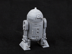 Astromech Droid 1/24 Scale in White Natural Versatile Plastic