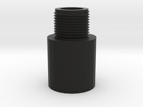 AK Muzzle Adapter (14mm-) in Black Natural Versatile Plastic