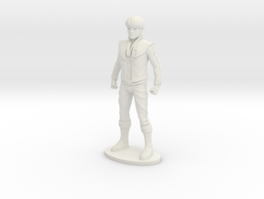 Daniel Ver. 2  27.83mm Tall (Titan Master Scale) in White Natural Versatile Plastic