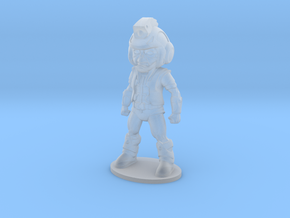 Primacron 26mm Tall (Titan Master Scale) in Smooth Fine Detail Plastic