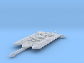 Black Legionr - Banner 02 mk4 in Smooth Fine Detail Plastic