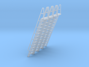 HO Scale Ladder 13 in Smooth Fine Detail Plastic