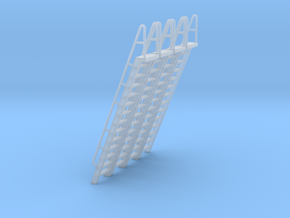 HO Scale Ladder 14 in Smooth Fine Detail Plastic