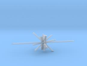 Laser d6 in Smooth Fine Detail Plastic