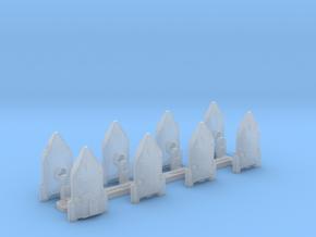 Omni Scale WYN Freedom Fighter Gunboat Flotilla SZ in Smooth Fine Detail Plastic