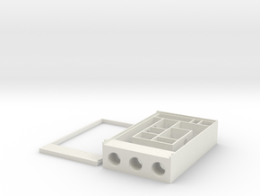 OhioAnts.com OA MINI Founding Formicarium in White Natural Versatile Plastic