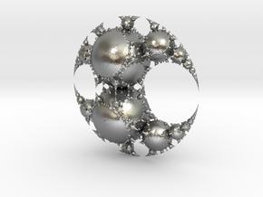 Jk disc in Natural Silver
