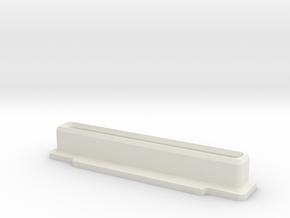 Famicom Cartridge Dust Plug in White Natural Versatile Plastic