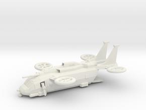MVX-7G Bannock (Ramp Down) in White Natural Versatile Plastic