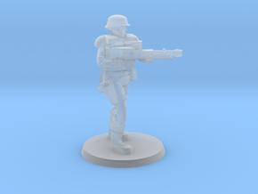 PDF Trooper with Light Machine Gun in Smooth Fine Detail Plastic
