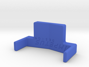 Bicycle Saddle Fitting Tool in Blue Processed Versatile Plastic