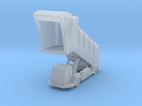 Stairs v1 power cover 10mm (1/400) in Smooth Fine Detail Plastic: 1:200